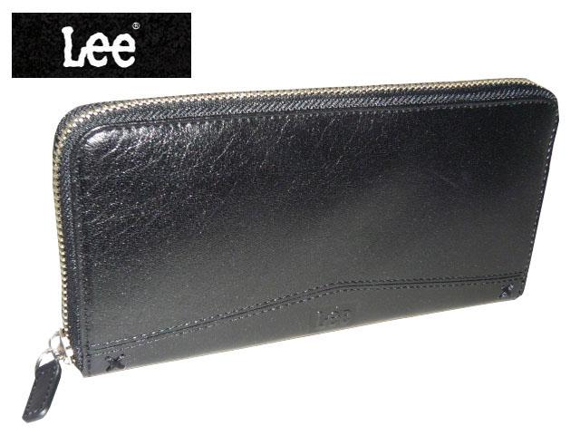 クリスマス 正規品 ポイント10倍 Lee (リー) 牛革ラウンドファスナー長財布 320-1608 sanyo06