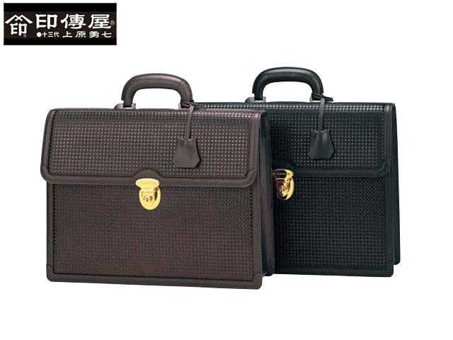 正規品 ハロウィン 印伝 印傳屋 印伝 ハヤト HAYATO ブリーフケース 和柄 8905 indn23