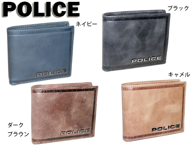 c589a988ad Point 10 times commuting attending school memorial day ceremonial occasion POLICE  police edge folio wallet 0576 ...