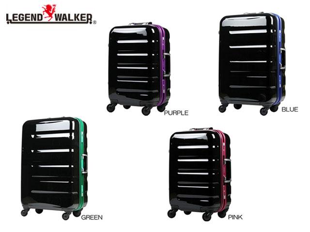 正規品 ポイント10倍 ハロウィン 通勤 通学 記念日 冠婚葬祭 [レジェンドウォーカー] legend walker スーツケース 31.5L 3.5kg 機内持込可 ヒノモトキャスター 6016-47 Sサイズ tas18