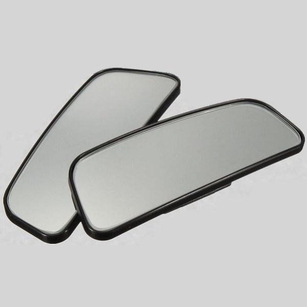 サイドミラーなどに工夫次第で視野が大幅アップ メール便送料無料 買い取り 補助ミラー 2個セット 安心と信頼 車両用 角度調整可能