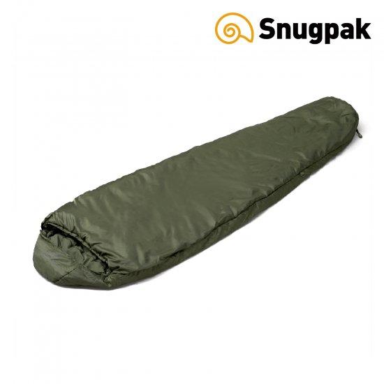 スナグパック ソフティーエリート3 レフトジップ オリーブ ミリタリーカラー寝袋 Snugpak 至上 期間限定特別価格 カモフラ