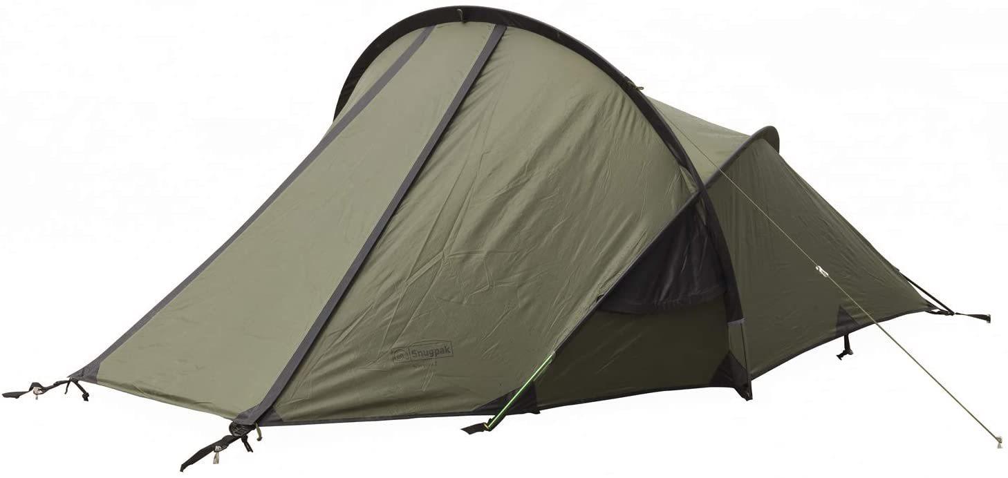耐水圧5000ミリ 激しい雨風に耐え得る高性能素材を使用した2人用テント Snugpak スナグパック 激安卸販売新品 国内在庫 スコーピオン2