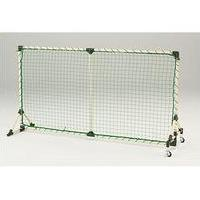 軽量テニスフェンス(キャスター付/ネット張上げ品) D-273 (JS17474)【送料区分:N-2】【QBI35】