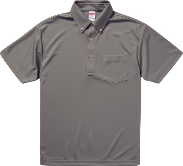 592101X-13 4.1オンス ドライアスレチックポロシャツ グレー (UNA10419170)