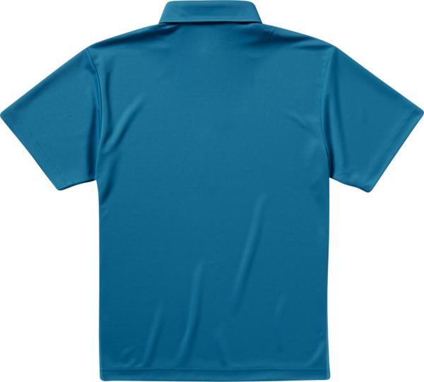 592101X-538 4.1オンス ドライアスレチックポロシャツ ターコイズブルー (UNA10419179)