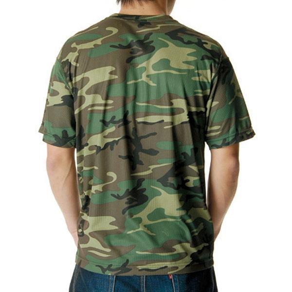 658901-104 ドライクールナイスカモフラージュTシャツ W/L (UNA10419266)