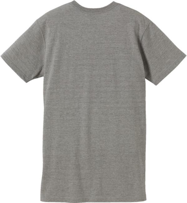 500901-6 5.6オンス ロングレングスTシャツ ミックスグレー M (UNA10419357)