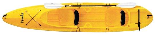 【 カヤック 】プラウラー イエロー K3 ( MC-1112 / AP01174 )【 かぬー カヌー キャンプ 】【QCA25】