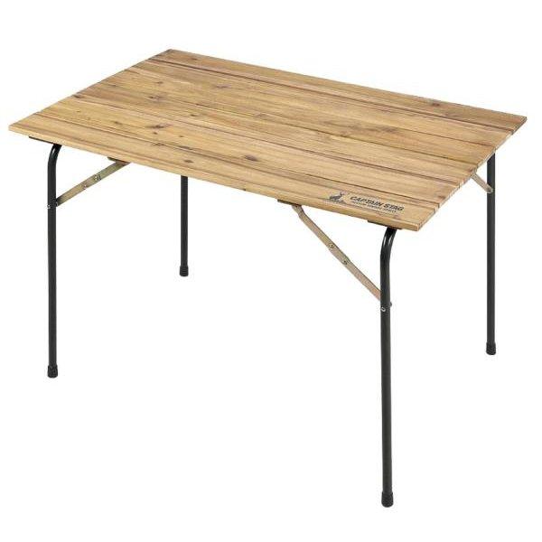 CSクラシックス FDリビングテーブル(110) ( UP-1013 / AP10237837 )【 キャプテンスタッグ テーブル 折りたたみ 】