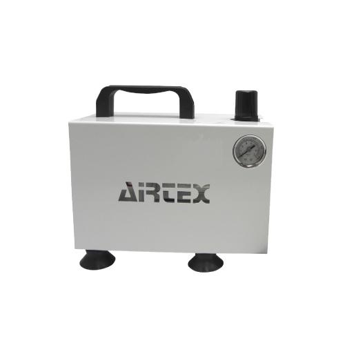 【 エアテックス 】コンプレッサー APC-018 ホワイト ( APC018-1 / AT10240364 )【 エアテックス エアブラシ コンプレッサー 】【QBI35】