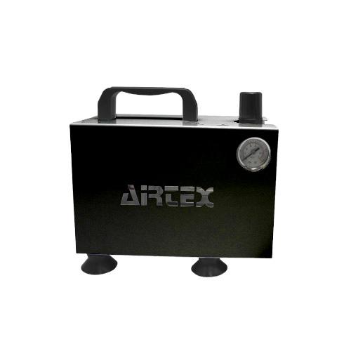 【 エアテックス 】コンプレッサー APC-018 ブラック ( APC018-2 / AT10240365 )【 エアテックス エアブラシ コンプレッサー 】