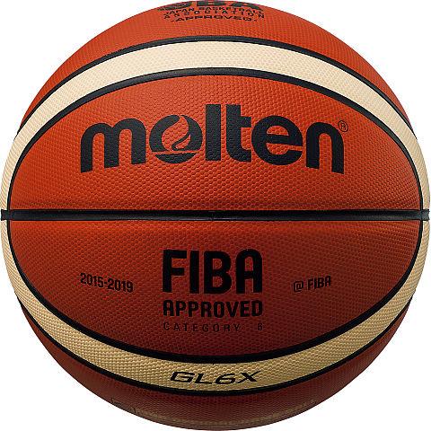 【 モルテン 】GL6X オレンジ×アイボリー /7号球 ( BGL6X / MTN10251609 )【 モルテン モルテン バスケットボール 7号 】【QBI35】