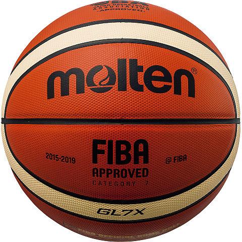 【 モルテン 】GL7X オレンジ×アイボリー/7号球 ( BGL7X / MTN10251610 )【 モルテン モルテン バスケットボール 7号 】【QBI47】
