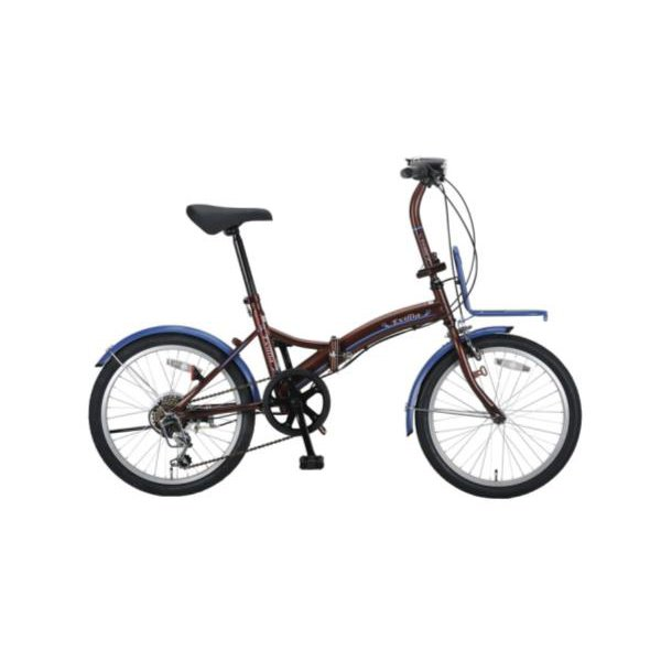 エクシリアFDB206BAA(ブラウン)【 YG-215 】 ( YG-0215 / CAG10252838 )【 YG-215 】【 キャプテンスタッグ 自転車 】【QBI25】