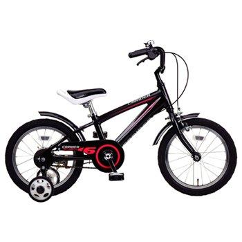 コライダーKIDS16(ブラック) ( YG-0218 / CAG10252839 )【 YG-218 】【 キャプテンスタッグ 自転車 子供用 】