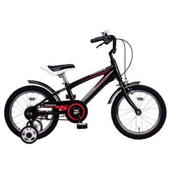 コライダーKIDS18(ブラック) ( YG-0221 / CAG10252842 )【 YG-221 】【 キャプテンスタッグ 自転車 子供用 】【QBI35】