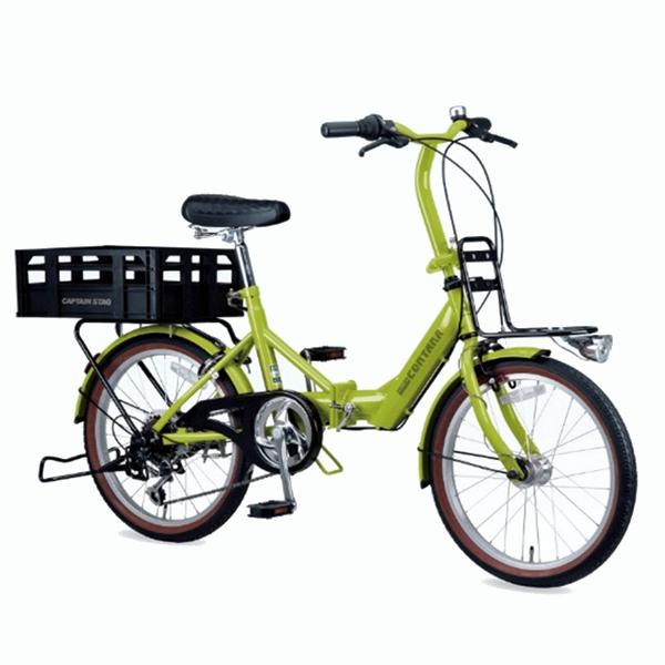 コンタナFDB206BAA(グリーンティ) ( YG-0236 / CAG10252851 )【 YG-236 】【 キャプテンスタッグ 自転車 】