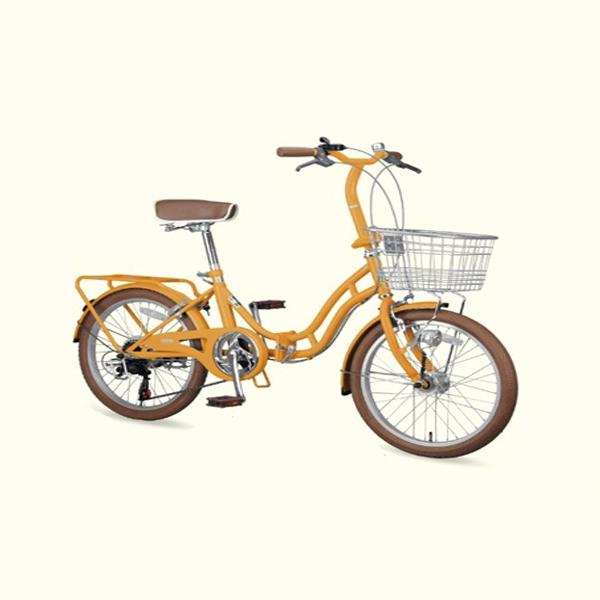 ホワイトニングバレイFDB206BAA(オレンジ) ( YG-0243 / CAG10252856 )【 YG-243 】【 キャプテンスタッグ 自転車 】