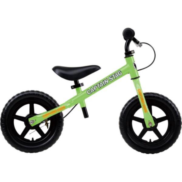 トレーニングバイク 黄緑 ( YG-0255 / CAG10252865 )【 YG-255 】【 キャプテンスタッグ 自転車 子供用 トレーニングバイク 】【QCA25】