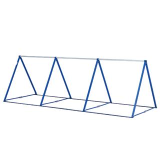 【法人限定】 トーエイライト 鉄棒 折りたたみ 三角鉄棒3 T-1965 特殊送料【ランク:11】 【TOL】 【QCA25】
