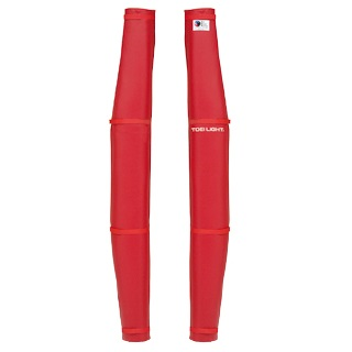 バレーポールカバーR型DX 赤 B-2250R (TOL10256613)【送料区分:9】