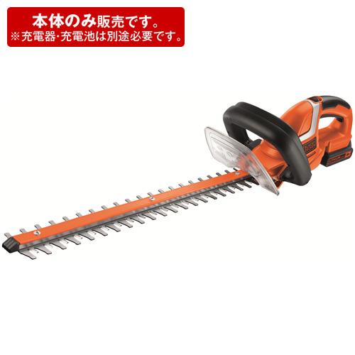 ヘッジトリマー(本体のみ) ブラックxオレンジ ( GTC1850LBN-JP / BLD10266517 )【 ブラックアンドデッカー 】【QBI35】
