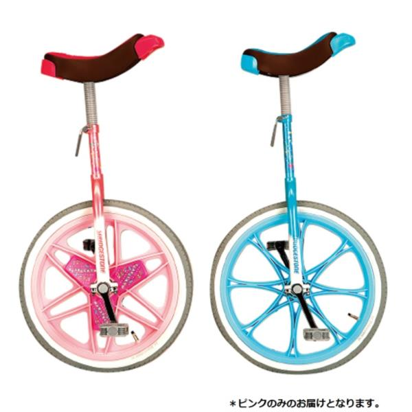 【DK99】一輪車(エアタイヤ)18インチ ピンク ( EKD328-120 / ENW10266600 )【 エバニュー 】【QBI35】