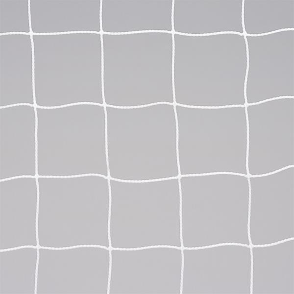 一般サッカーゴールネットS114 白 ( EKE994-90 / ENW10266612 )【 エバニュー 】