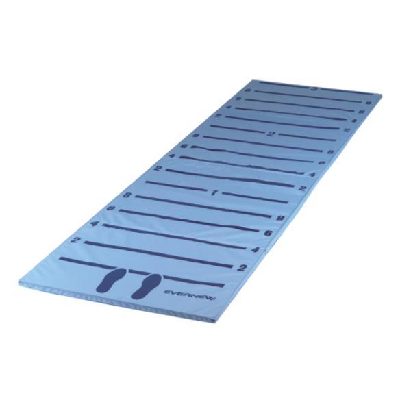 立ち幅跳び測定マットII 100×330×3cm ( EKJ099 / ENW10266618 )【 エバニュー 】【QBI35】