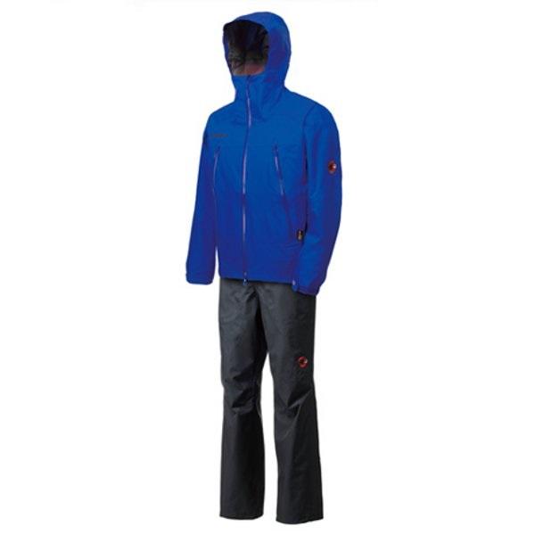 Gore-Tex Thunderstorm Rain-Suit dark merlin-black S ( 1010-12721-5661-S / MAT10271516 )【 マムート 】【QCA25】