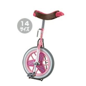 ダンノ 一輪車 ブリヂストン D3526P スケアクロウ一輪車 14インチ(ピンク)D-3526P 特殊送料:ランク【別途】【DAN】【QBJ38】