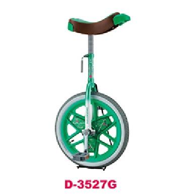 ダンノ 一輪車 ブリヂストン D3527G スケアクロウ一輪車 16インチ(グリーン)D-3527G 特殊送料:ランク【別途】【DAN】【QBJ38】