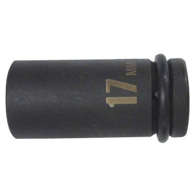 【 パオック インパクトレンチ 】 薄口インパクトレンチソケット セミロング 17mm ( IMS-17SL / EP10274619 )【 パオック 】【QCB27】