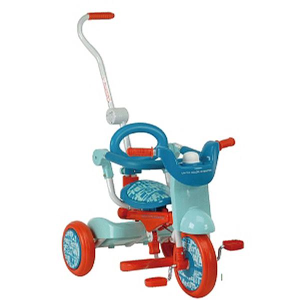 【DK99】ベネトン オリトリオ2三輪車(オレンジxブルー)   ( YA-1319 / CAG10287516 )【 キャプテンスタッグ 】【QBI35】