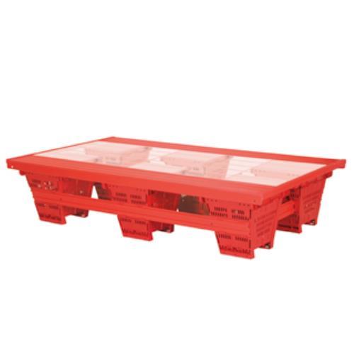折りたたみプールフロア2透明板 B-2387 (TOL10317703)【送料区分:40】