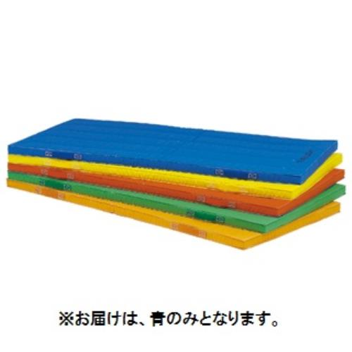 エコカラーコンビネーションマット5cm厚 90×180×5cm 青 T-1892B (TOL10317795)【送料区分:7】【QBI35】
