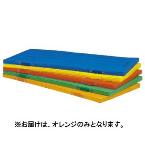 エコカラーコンビネーションマット5cm厚 90×180×5cm オレンジ T-1892V (TOL10317798)【送料区分:7】