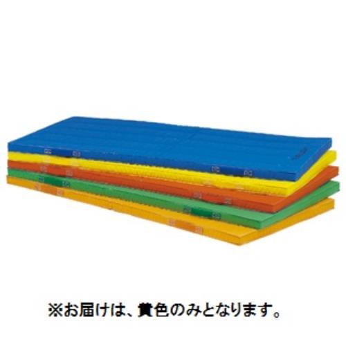 エコカラーコンビネーションマット5cm厚 90×180×5cm 黄 T-1892Y (TOL10317799)【送料区分:7】