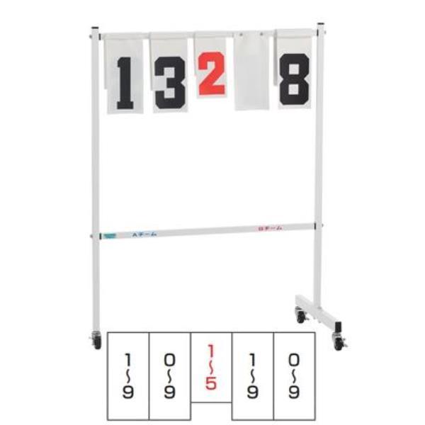 三和体育 スポーツ用具 学校用具 小型得点板 JT-S型 S-1104 特殊送料【ランク:B】 【SWT】 【QCA04】