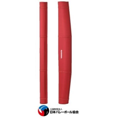 バレー支柱用防護マット RX(赤) S-6704 (SWT10322605)【送料区分:C】【QBI35】