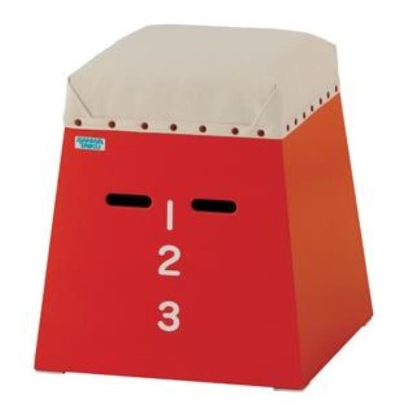 三和体育 スポーツ用具 学校用具 ミニミニ跳箱(入門用) 赤 S-7890 特殊送料【ランク:B】 【SWT】 【QCA25】