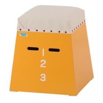 ミニミニ跳箱(入門用) 黄 S-7891 (SWT10322687)【送料区分:C】