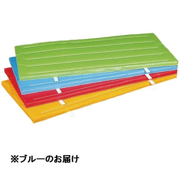 室内外兼用防水カラ-マット (ブル-)  90×180×5 S-9685 (SWT10323234)【送料区分:2D】