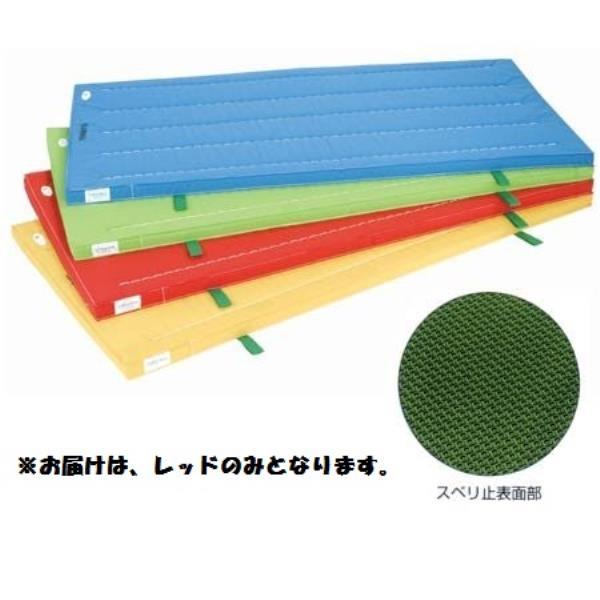 室内用抗菌カラ-マット ノンスリップタイプ (レッド) 120×240×5 S-9862 (SWT10323356)【送料区分:D】