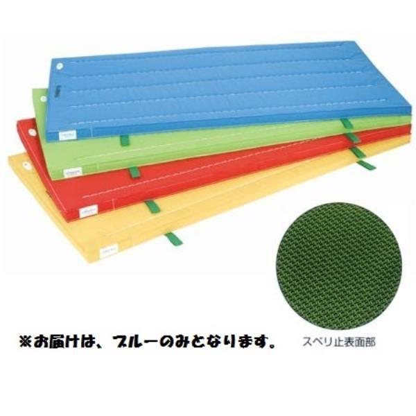 室内用抗菌カラ-マット ノンスリップタイプ (ブル-)  90×180×5 S-9865 (SWT10323359)【送料区分:2D】