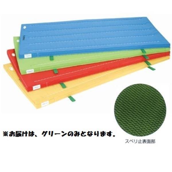 室内用抗菌カラ-マット ノンスリップタイプ (グリ-ン) 90×240×5 S-9871 (SWT10323365)【送料区分:D】