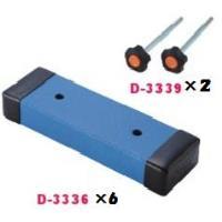 ダンノ DANNO 運動用具 移動式支柱用補助重り 6枚セット(ボルト付) D-3352 特殊送料【ランク:H】 【DAN】 【QCA04】