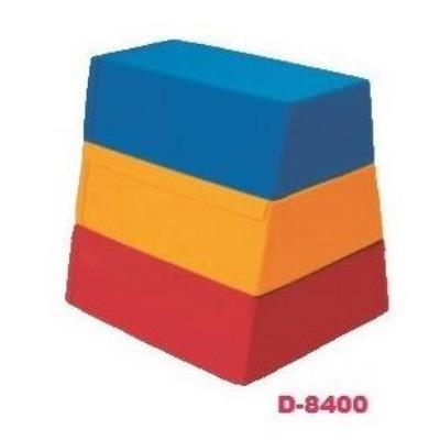 ソフトとびばこ3段(3色) D-8400 (DAN10327548)【送料区分:別途】
