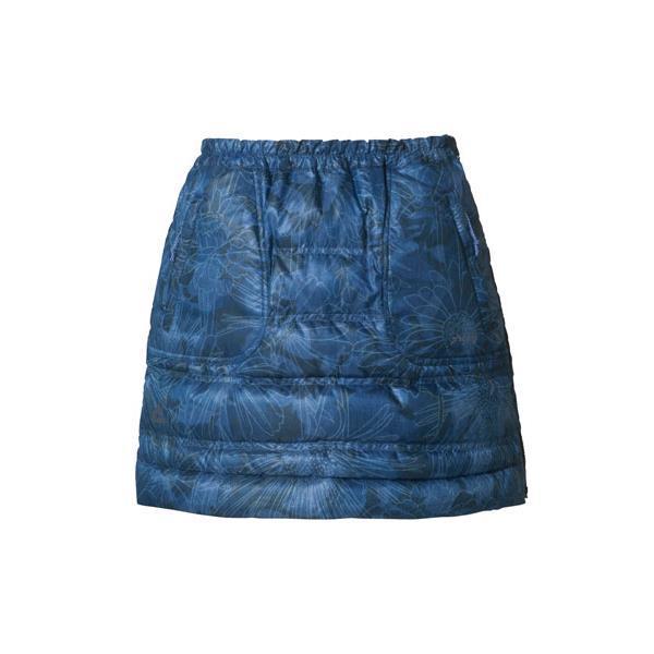 【送料無料】Flower Mixed Down Skirt INDIGO M ( PH562SK71-IND-M / PHE10333602 )【 フェニックス 】【QBI25】